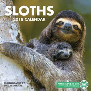 Sloth calendar cover