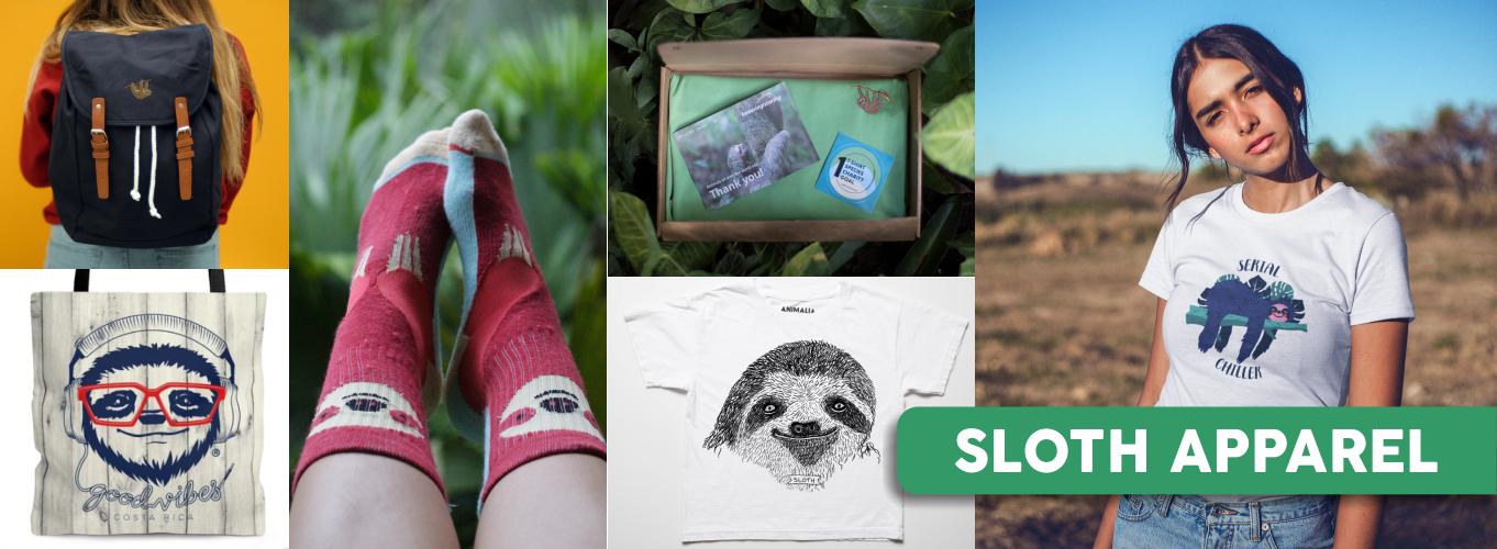 sloth apparel merchandising