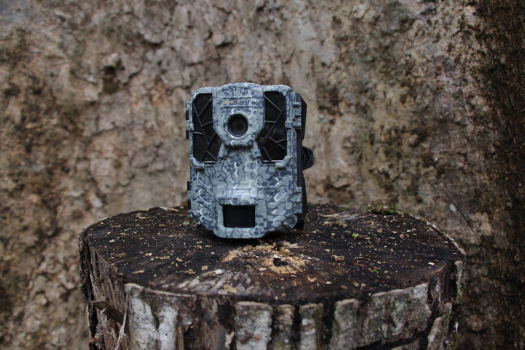 A camera trap donated by Nature Spy