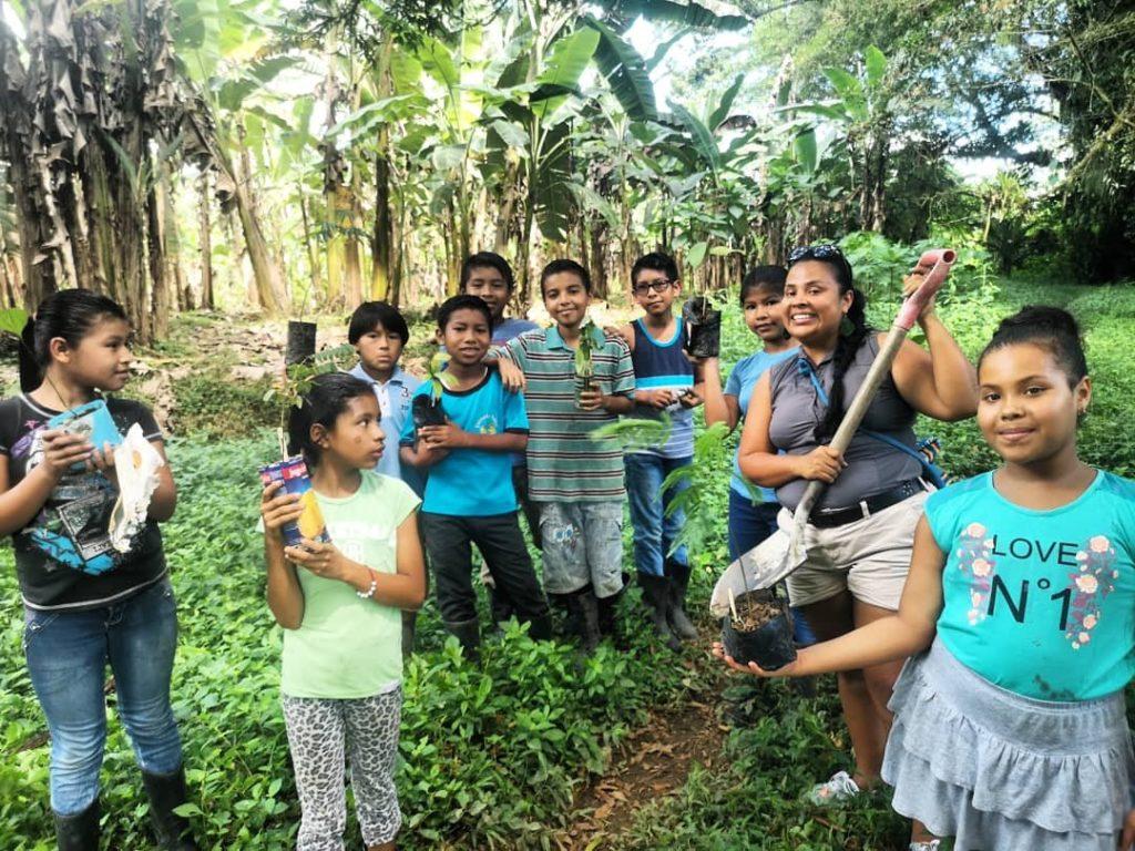 teacher reforestation agroforestry