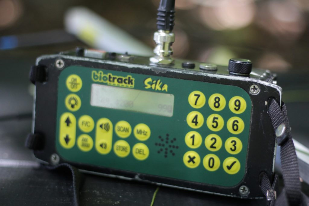 tracking receiver